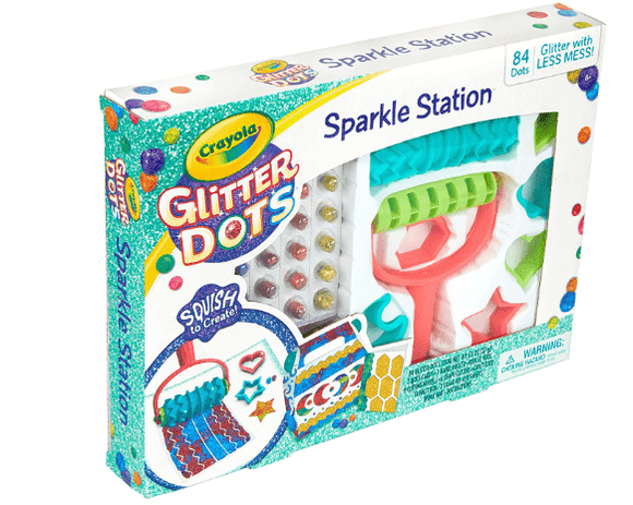 Crayola School GLITTER DOTS,SPARKLE STATION