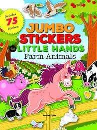 Crayola School JUMBO ANIMAL STICKERS