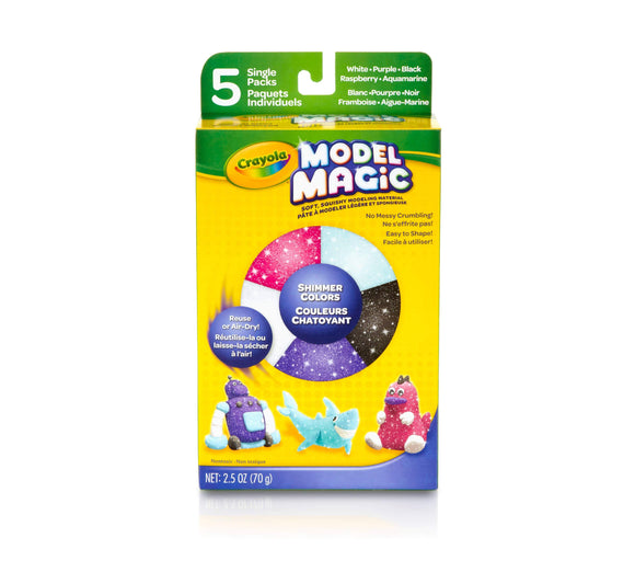 Crayola School Model Magic, 5 ct. Shimmer Assorted Pack