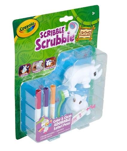 Crayola School SCRIBBLE SCRUBBIE SAFARI 2CT model 2
