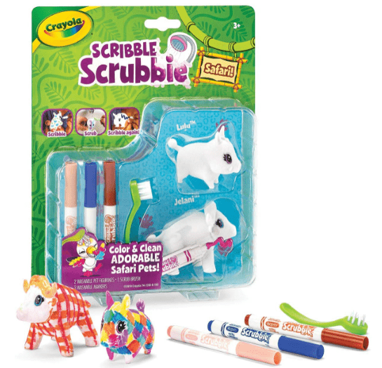 Crayola School SCRIBBLE SCRUBBIE SAFARI 2CT  model 3