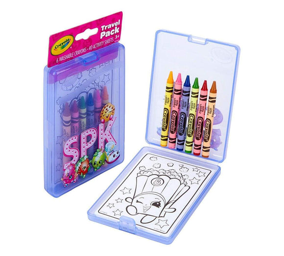 Crayola School Shopkins Travel Pack