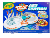 Crayola School SPIN N SPIRAL ART STATION