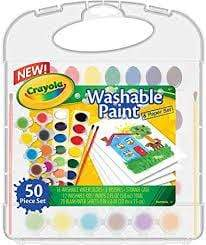 Crayola School Washable Paint Set