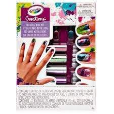 Crayola Toys Crayola Creations Metallic Nail Design Kit