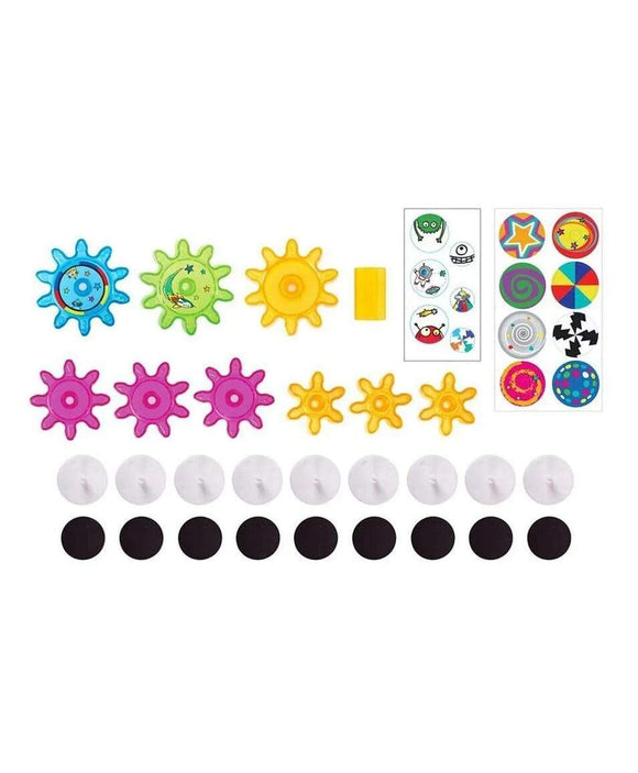 Crayola Toys Crayola Wall Easel & Magnetic Gears - Multi colour