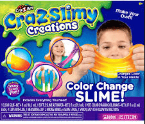 CraZSlimy Toy CrazSlimy Color Change Slime