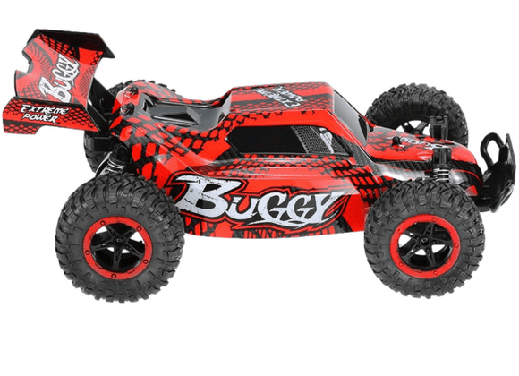 D-Power Toys D-Power - Cross Country Vehicle 1:16 2.4G R/C - Beast-Red