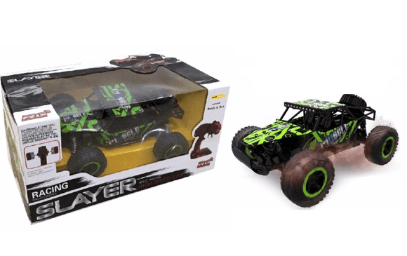D-Power Toys D-Power - Cross Country Vehicle 1:16 2.4G R/C - Buggy-Green