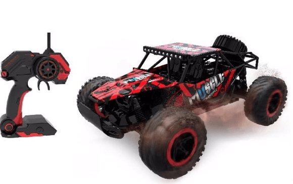 D-Power Toys D-Power - Cross Country Vehicle 1:16 2.4G R/C - Buggy-Red