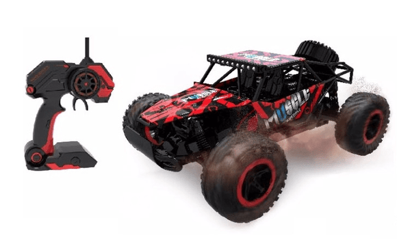 D-Power Toys D-Power - Cross Country Vehicle 1:16 2.4G R/C - Muscle-Red