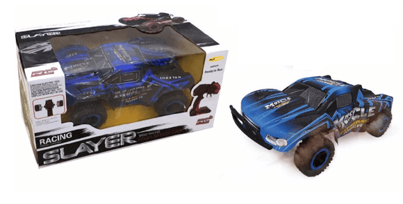 D-Power Toys D-Power - Cross Country Vehicle 1:16 R/C-Muscle Extreme-Blue