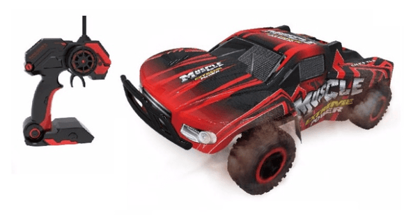 D-Power Toys D-Power - Cross Country Vehicle 1:16 R/C-Muscle Extreme-Red