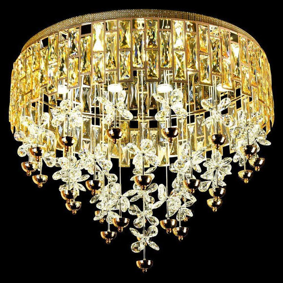 Danube Home Home & Kitchen Amelia Fancy Ceiling Chandelier