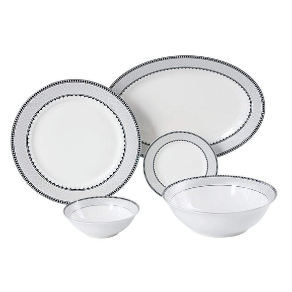 Danube Home Home & Kitchen Danube Home Lugano 20 Pcs Dinner Set Round (DB2001)