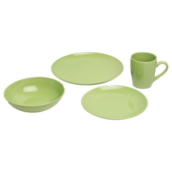Danube Home Home & Kitchen Danube Home The Green 16 Pcs Stoneware Dinner Set