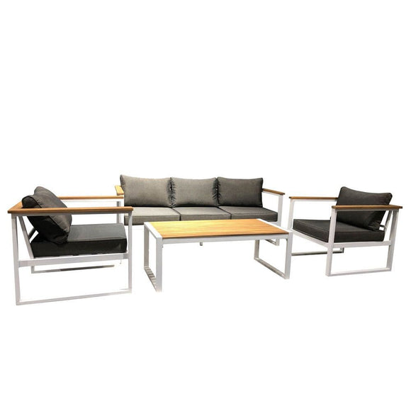 Danube Home Outdoor Bella Aluminium Sofa Set