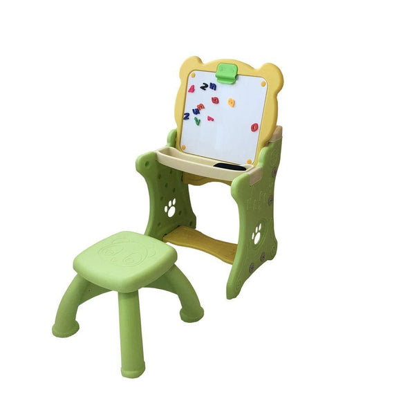 Danube Home Toys 2 IN 1 KIDS EISEL TABLE & STOOL - GLH7005