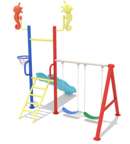 Danube Home Toys Danube Home-Wonder Swing And Slide Play