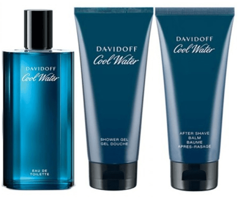 Davidoff Perfumes Davidoff Cool Water (M) Edt 75Ml+50Ml Sg+50Ml Asb Set