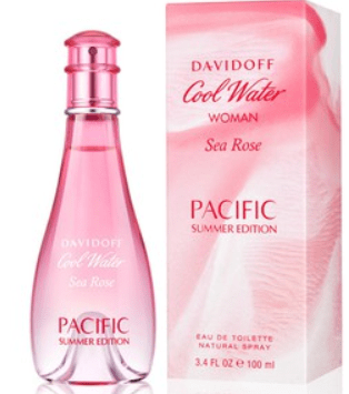 Davidoff Perfumes Davidoff Cool Water Sea Rose Pacific Summer Edition (W) Edt 100Ml