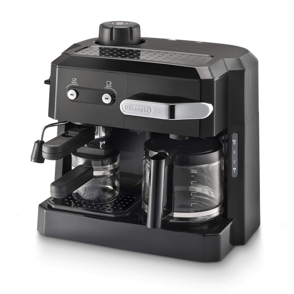 De'Longhi Appliances De'Longhi Combi Coffee Machine Black BCO320