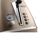 De'Longhi Appliances DE'LONGHI DISTINTA TOASTER WITH BUN WARMING CTI2103.BZ-CTI2103.BZ+BUN WARMING