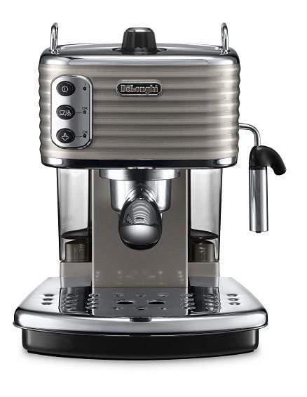 De'Longhi Appliances De'Longhi Scultura Pump Coffee Machine Beige ECZ351.BG
