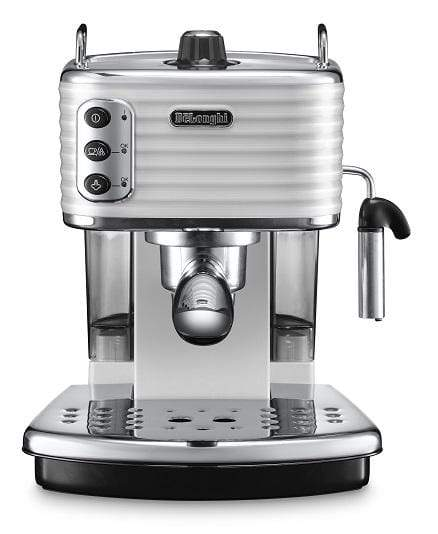De'Longhi Appliances De'Longhi Scultura Pump Coffee Machine White ECZ351.W