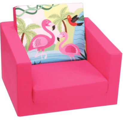 Delsit Babies Delsit Single Sofa - Flamingos Pink