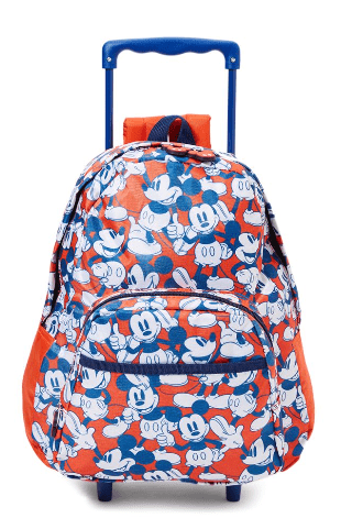 DISNEY Back to School Mickey Mouse Trolley Bag
