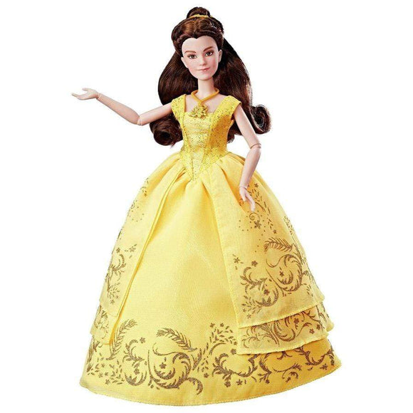 Disney toys Beauty and the Beast Enchanting Ball Gown Belle Doll