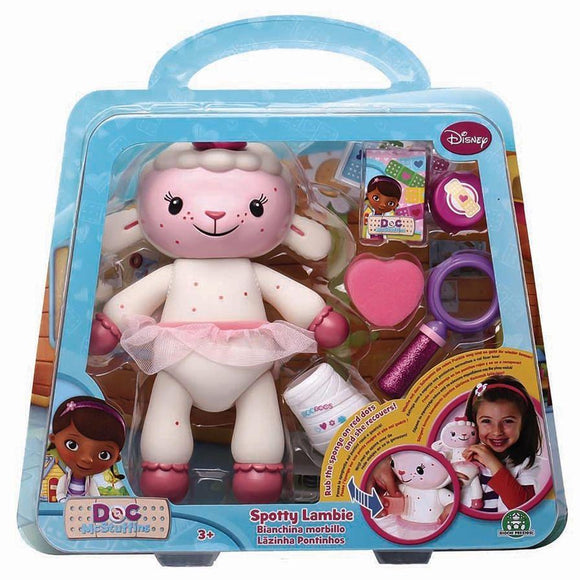 Disney toys Doc McStuffins Spotty Lambie with Accessories