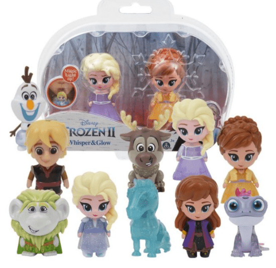Disney Toys Frozen2 blow & shine double blisterB/O