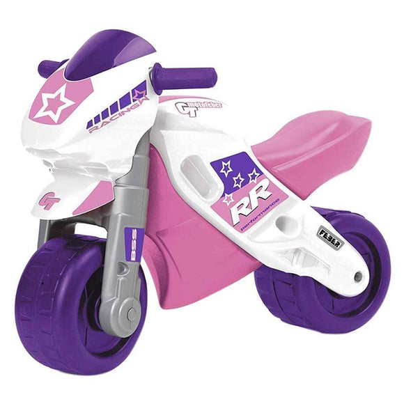 Feber Toys Feber - Moto 2 Racing Ride On - Pink