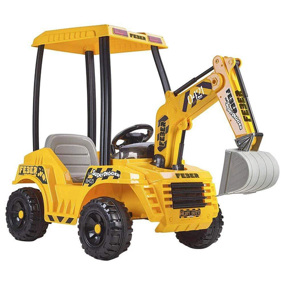 Feber Toys Feber - Ride-on Super Digger Battery Operated 12V UK