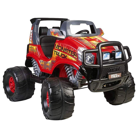 Feber Toys Feber - Rideon Monster Truck 12V - Red