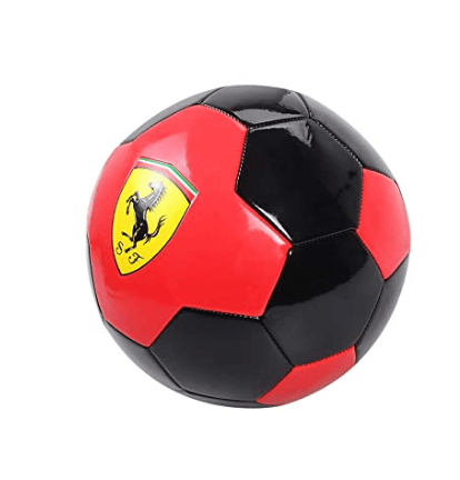 Ferrari Toys Ferrari #5 Black/ Red Machine Sewing Soccer Ball-F688