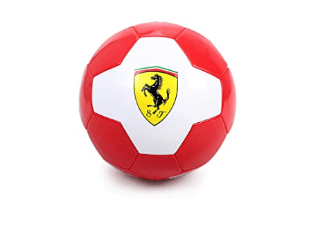 Ferrari Toys Ferrari #5 White/Red Machine Sewing Soccer Ball-F688