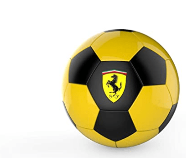 Ferrari Toys Ferrari #5 Yellow/Black Machine Sewing Soccer Ball-F688