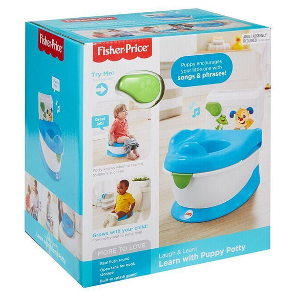 Fisher Price Babies Fisher Price INFANT - LEARN W/ PUPPY POTTY INTL (QE)