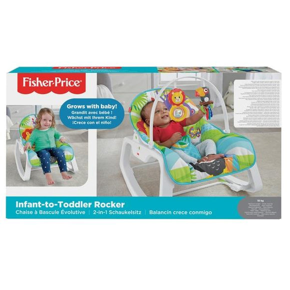 Fisher Price Babies FISHER PRICE INFANT TO TODDLER ROCKER