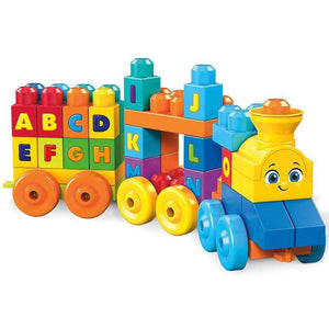 Fisher-Price Toy Mega Bloks First Builders ABC Musical Train