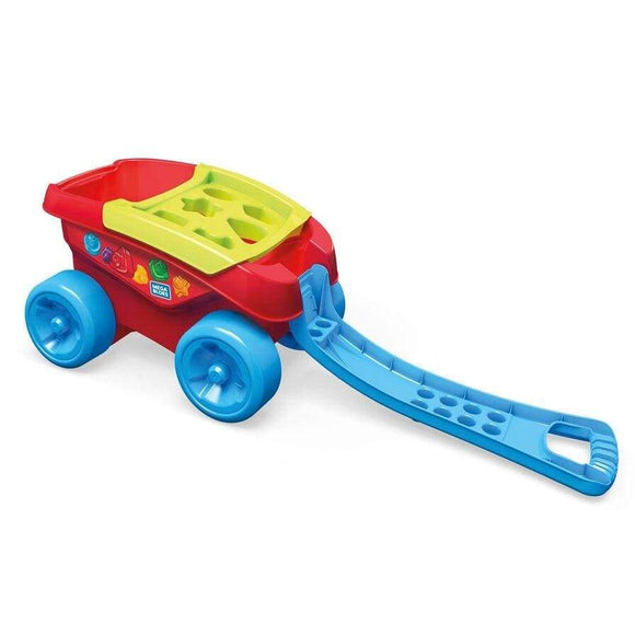 Fisher-Price Toy Mega Bloks Shape Sorting Wagon