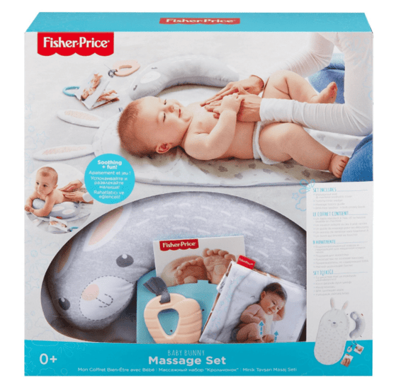 Fisher-Price Toys Fisher-Price Baby Bunny Massage Set