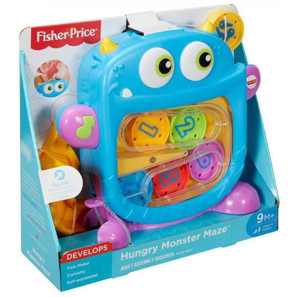 Fisher Price Toys Fisher Price CORE - HUNGRY MONSTER MAZE