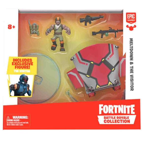 Fortnite Toys Fortnite - Meltdown & The Visitor Glider - Red (63617)