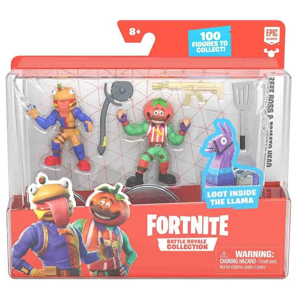 Fortnite Toys Fortnite - S1 W5 Duo Figure Pack - Tomatohead & Beef Boss (63579)