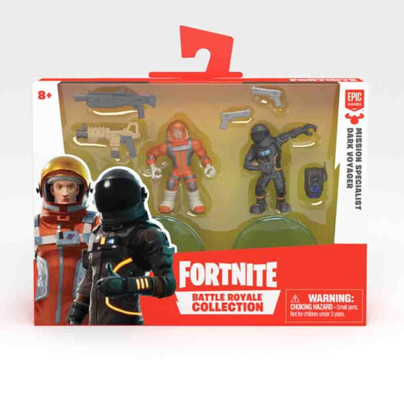 Fortnite Toys Fortnite - W2 Duo Figure - Mission Specialist & Dark Voyager (63540)