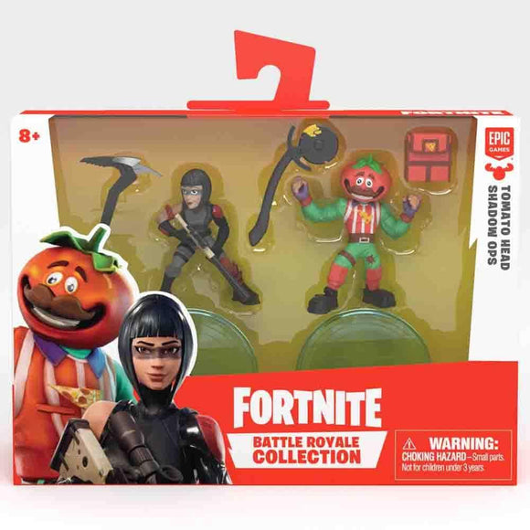 Fortnite Toys Fortnite - W2 Duo Figure Pack - Tomato Head & Shadow Ops (63537)